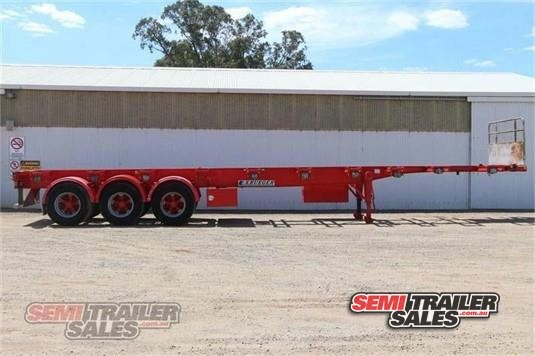 2006 Krueger Skeletal Trailer Semi Trailer Sales - Trailers for Sale
