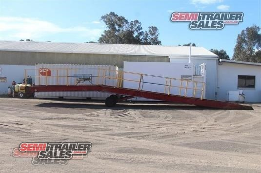 Custom Plant Trailer With Ramps Semi Trailer Sales - Trailers for Sale