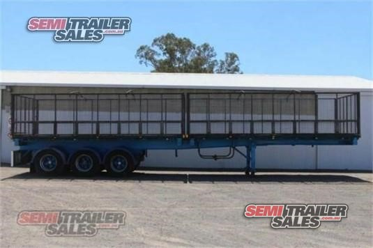 2007 Johnston Truck Bodies Flat Top Trailer Semi Trailer Sales - Trailers for Sale