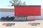 2004 Krueger Curtainsider Trailer Curtainsider Trailers