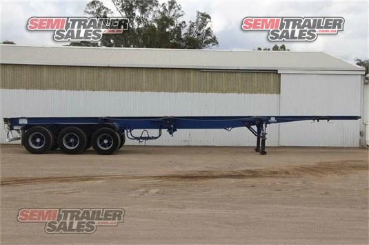 2002 Gte Skeletal Trailer Semi Trailer Sales - Trailers for Sale