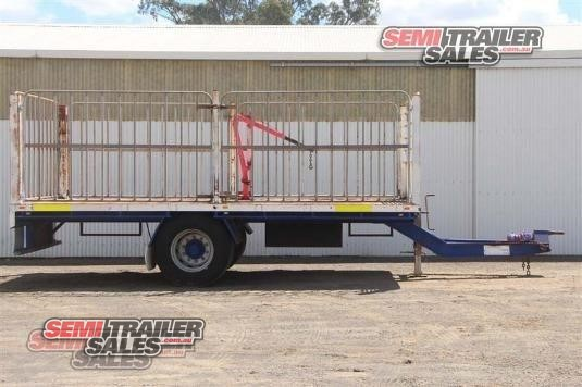 2007 Custom Flat Top Trailer Semi Trailer Sales - Trailers for Sale