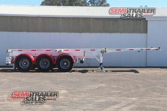 2008 Cimc Skeletal Trailer Semi Trailer Sales - Trailers for Sale
