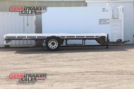 2007 Vawdrey Flat Top Trailer Semi Trailer Sales - Trailers for Sale