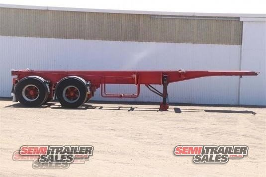 1994 Krueger Skeletal Trailer Semi Trailer Sales - Trailers for Sale