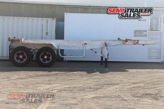 1987 Krueger Skeletal Trailer Semi Trailer Sales - Trailers for Sale