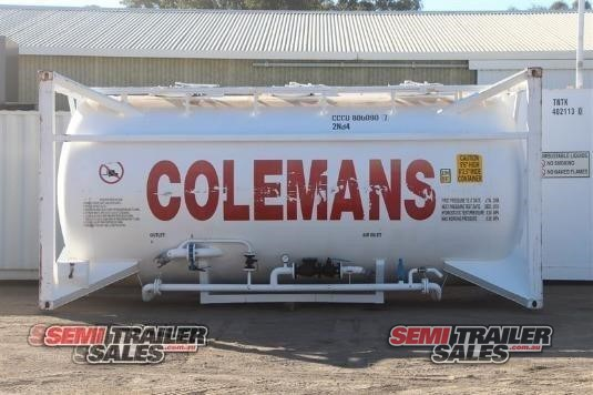 2008 Cimc Tanker Trailer Semi Trailer Sales - Trailers for Sale