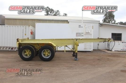 1985 Krueger Skeletal Trailer Semi Trailer Sales - Trailers for Sale