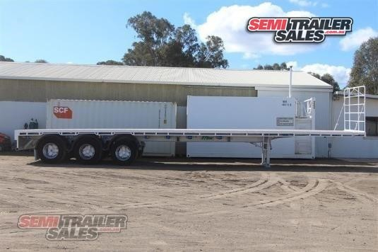 2003 Vawdrey Flat Top Trailer Semi Trailer Sales - Trailers for Sale