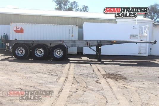 1993 Smiths & Sons Skeletal Trailer Semi Trailer Sales - Trailers for Sale