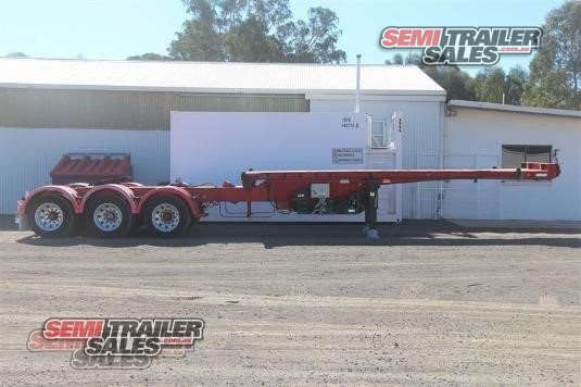 2000 Barker Skeletal Trailer Semi Trailer Sales - Trailers for Sale