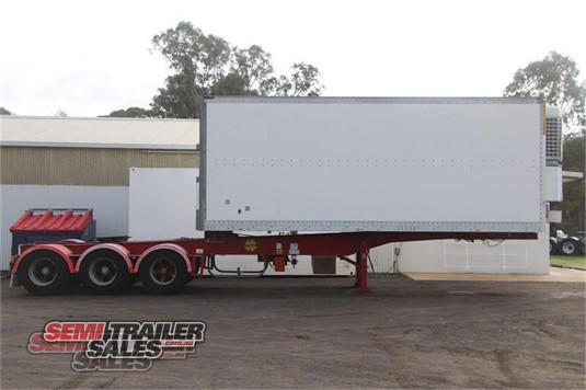 1998 Maxi Cube Refrigerated Trailer Semi Trailer Sales - Trailers for Sale
