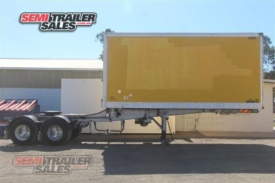 1991 Maxi Cube Pantech Trailer Semi Trailer Sales - Trailers for Sale