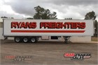 2001 Maxitrans Refrigerated Trailer Refrigerated Pantech Trailers