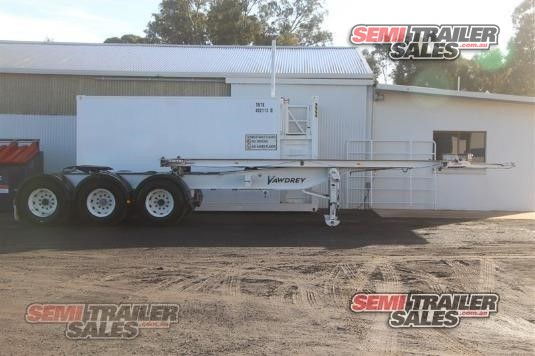 2007 Vawdrey Skeletal Trailer Semi Trailer Sales - Trailers for Sale