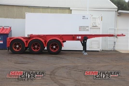 1992 Krueger Skeletal Trailer Semi Trailer Sales - Trailers for Sale