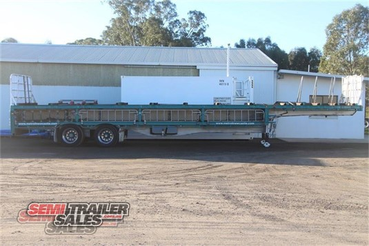 2004 Vawdrey Flat Top Trailer Semi Trailer Sales - Trailers for Sale