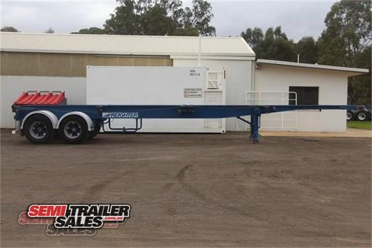 2002 Maxitrans Skeletal Trailer Semi Trailer Sales - Trailers for Sale