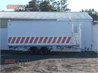 2012 Eurowagon Tag Trailer Transportable Toilet Block