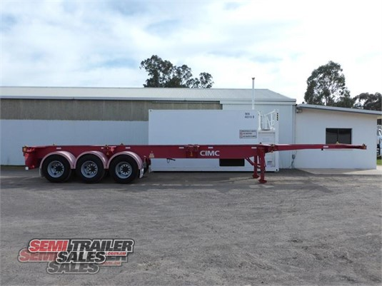 2012 Cimc Skeletal Trailer Semi Trailer Sales - Trailers for Sale