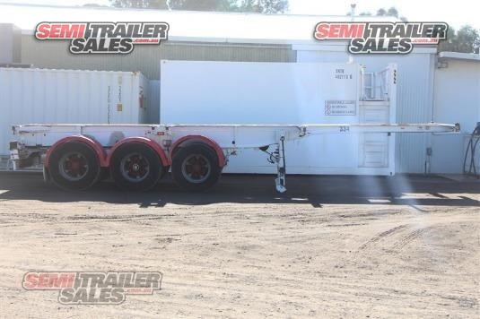 2003 Krueger Skeletal Trailer Semi Trailer Sales - Trailers for Sale