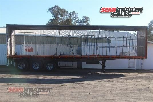 1985 Freighter Curtainsider Trailer Semi Trailer Sales - Trailers for Sale
