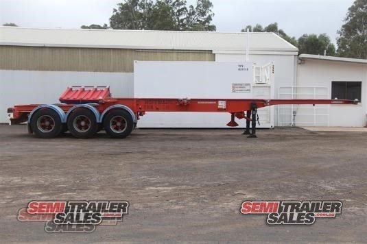 Krueger Skeletal Trailer Semi Trailer Sales - Trailers for Sale