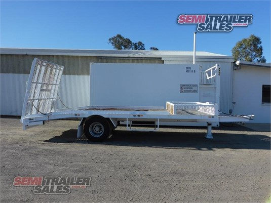 2010 Custom Plant Trailer With Ramps Semi Trailer Sales - Trailers for Sale