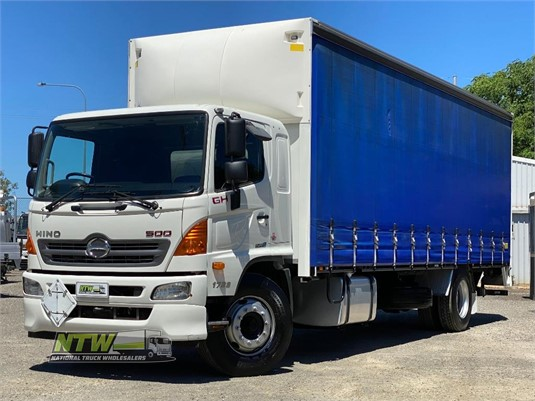 2015 Hino 500GH1728 National Truck Wholesalers Pty Ltd - Trucks for Sale