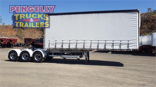 2004 Krueger Curtainsider Pengelly Truck & Trailer Sales & Service  - Trailers for Sale