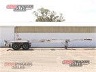 1980 Krueger Skeletal Trailer Skeletal Trailers