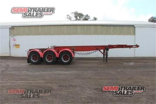 1985 Freighter Skeletal Trailer Semi Trailer Sales - Trailers for Sale