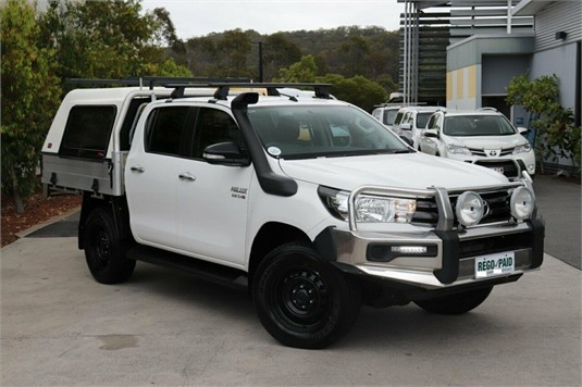 2016 Toyota Hilux Gun126r Sr Double Cab - Light Commercial for Sale