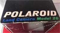 Vintage Polaroid Land Camera Model 20 The Swinger