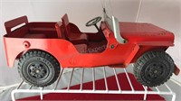 Vintage Marx Toys Metal Willys Jeep Toy Vehicle
