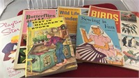 Collection of Vintage Children's Books includes