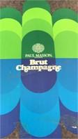 Vintage Paul Masson Brut Champagne 11pcs Stemware