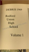 1960's & 70's  Redford Union & Pearson Yearbooks