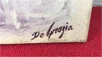 Vintage Reproduction DeGrazia Flowerboy Print On