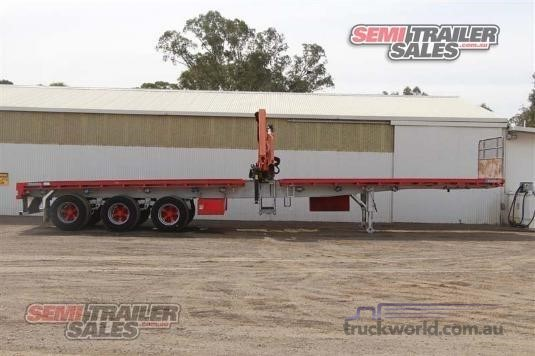 2006 Krueger Flat Top Trailer - Trailers for Sale