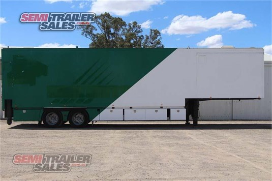 1987 Fruehauf Pantech Trailer Semi Trailer Sales - Trailers for Sale