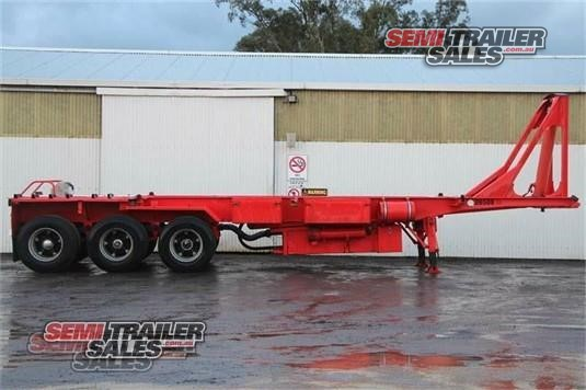 2005 Maxitrans Skeletal Trailer Semi Trailer Sales - Trailers for Sale