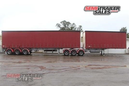 2002 Krueger Curtainsider Trailer Semi Trailer Sales - Trailers for Sale