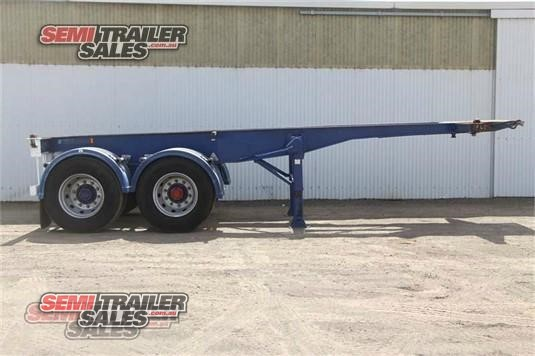 2001 Consultrans Skeletal Trailer Semi Trailer Sales - Trailers for Sale