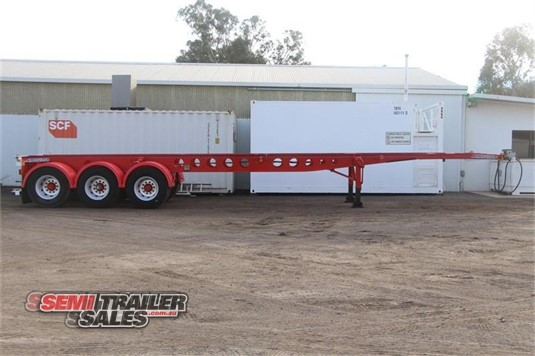 2003 Maxitrans Skeletal Trailer Semi Trailer Sales - Trailers for Sale