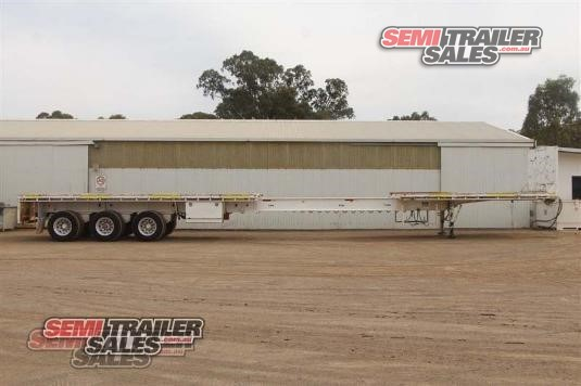 2012 Cimc Flat Top Trailer Semi Trailer Sales - Trailers for Sale