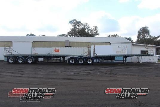 2006 Barker Flat Top Trailer Semi Trailer Sales - Trailers for Sale
