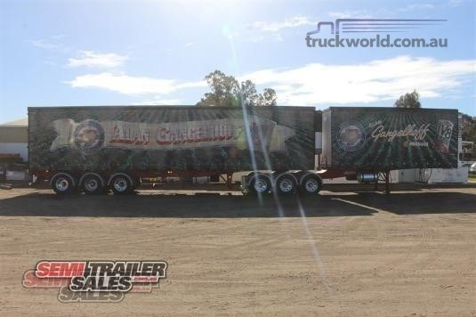 1999 Barker Refrigerated Curtainsider Trailer - Trailers for Sale
