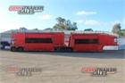 2011 Custom Car Carrier Trailer B/D Combination Car Carrier