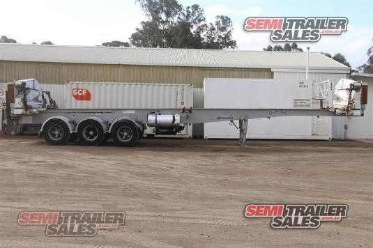 2004 Steelbro Skeletal Trailer Semi Trailer Sales - Trailers for Sale